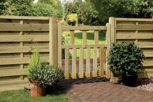 barrières en bois