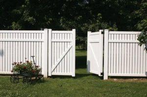 barrières en PVC