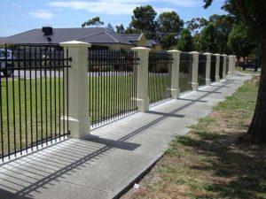 barrières en aluminium