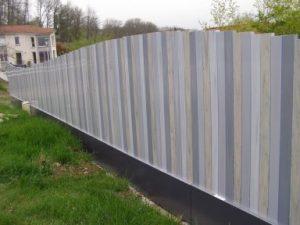 clôture pvc couleur
