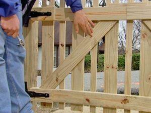 comment installer une barrière de jardin