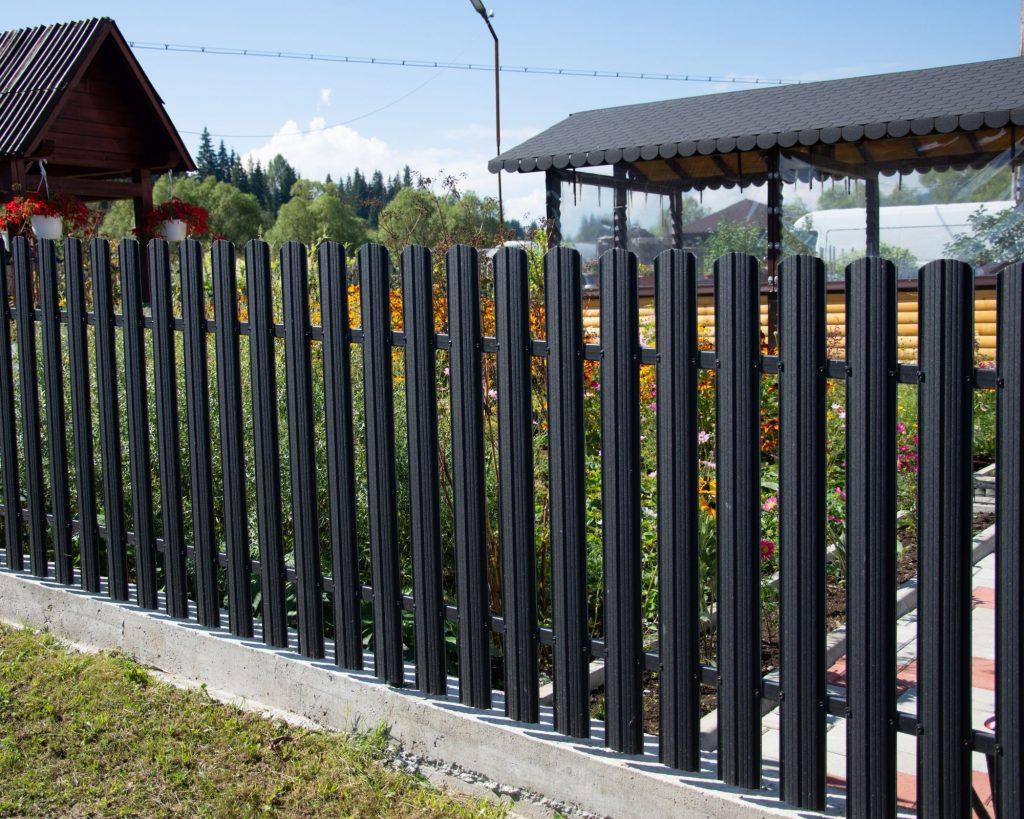 clôture de jardin en aluminium